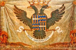 Lo stemma del Casato Landi